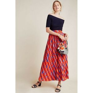 New Katarina Pleated Maxi Skirt Siddhartha Bansal